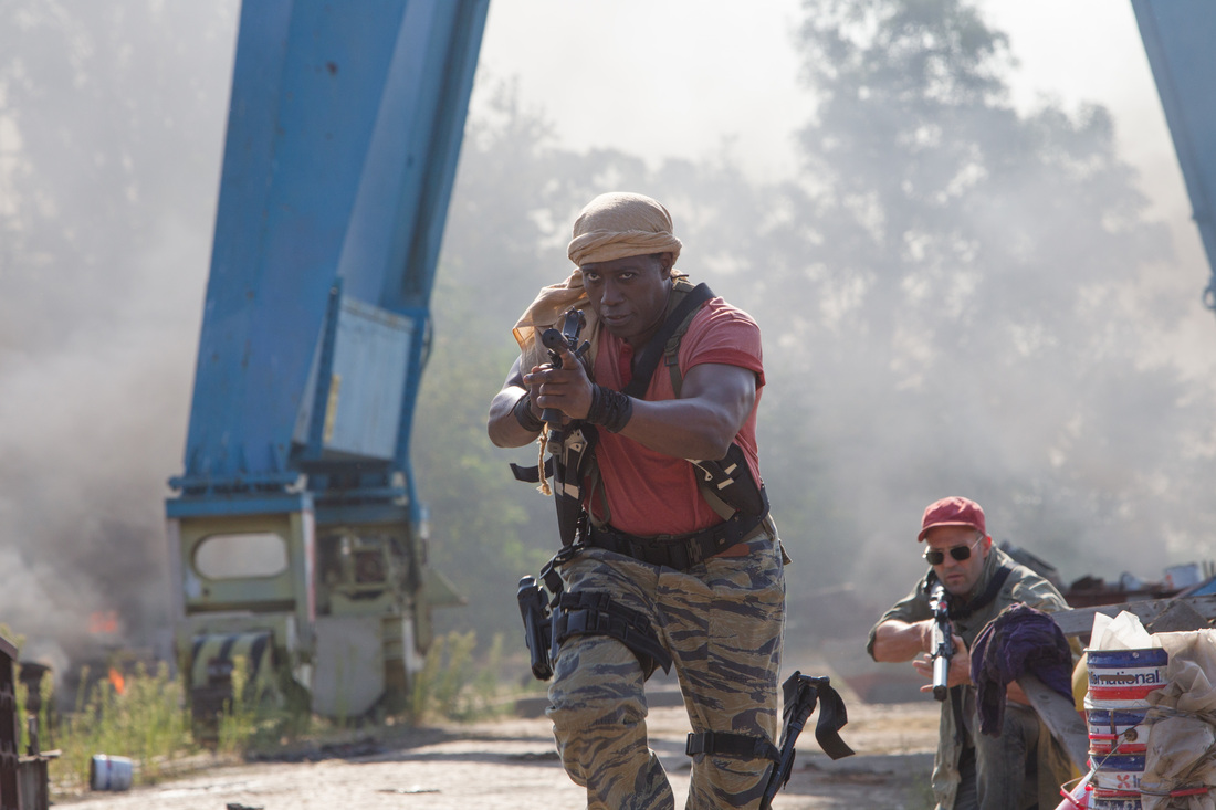 The Expendables 3 - Wesley Snipes - Jason Statham