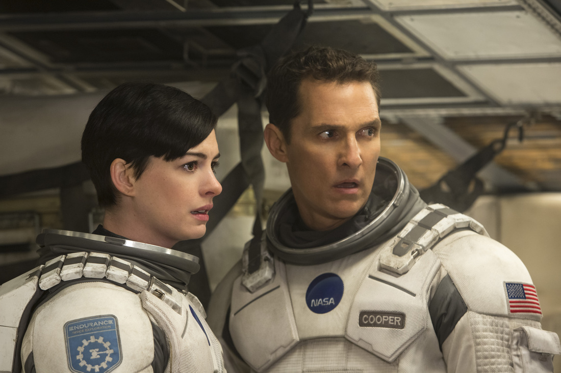 Interstellar - Matthew McConaughey - Anne Hathaway