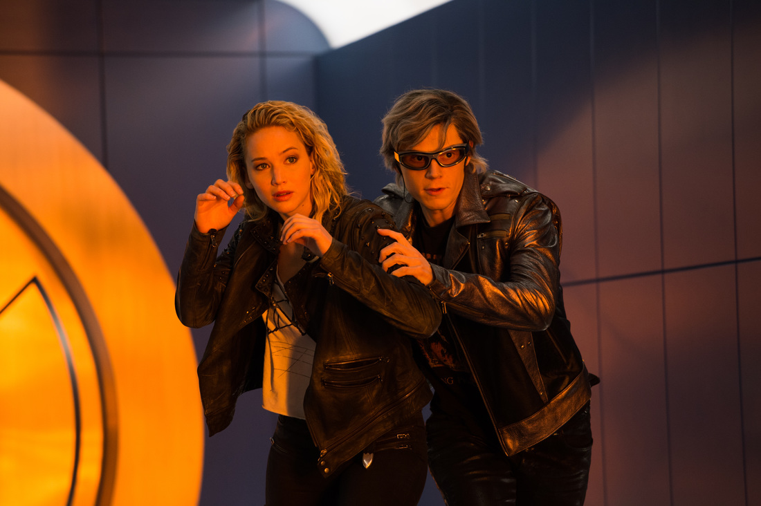 X-Men,Apocalypse,Jennifer Lawrence,Evan Peters