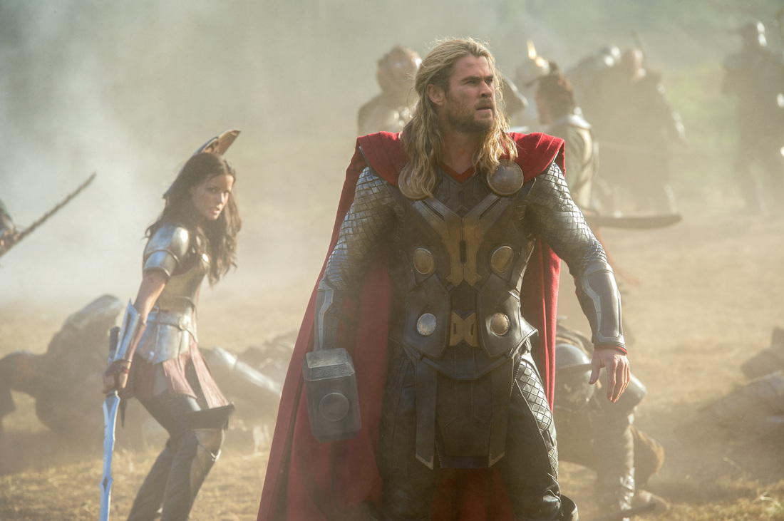 Thor The Dark World - Chris Hemsworth - Jaimie Alexander