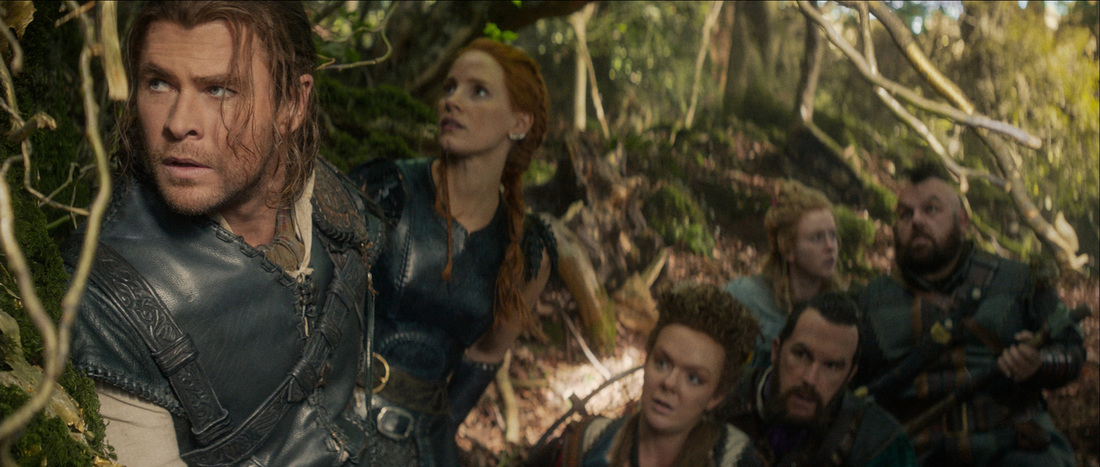 The Huntsman,Winter's War,Chris Hemsworth,Jessica Chastain,Nick Frost,Rob Brydon,Sheridan Smith,Alexandra Roach