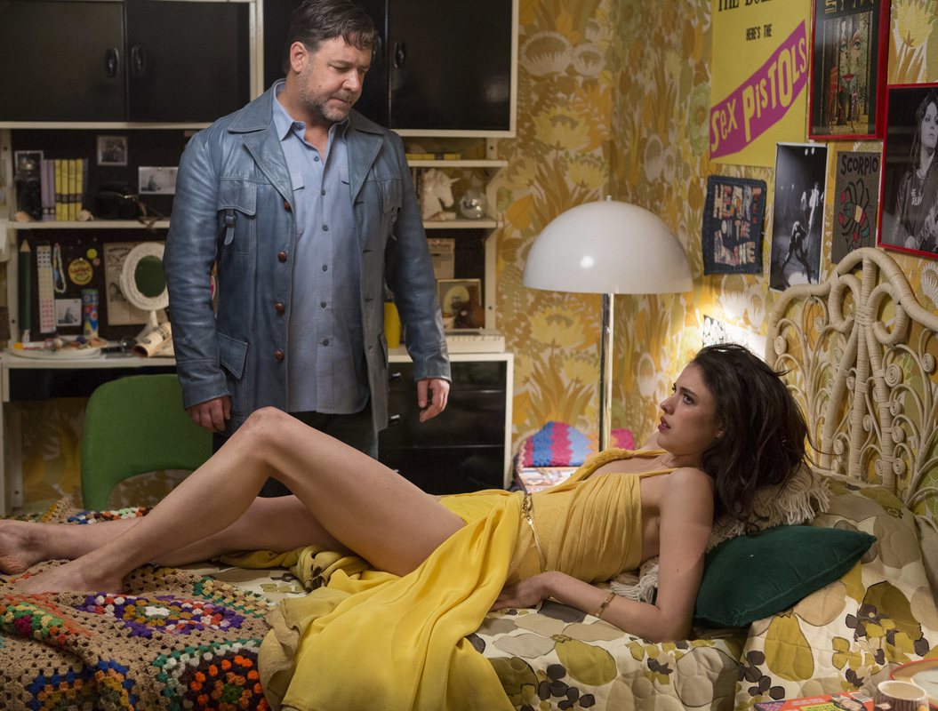 The Nice Guys,Russell Crowe,Margaret Qualley