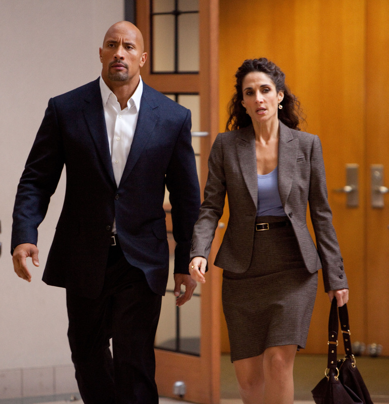Snitch - Melina Kanakaredes - The Rock - Dwayne Johnson