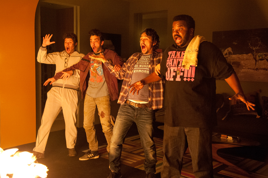 This Is The End - Seth Rogen - James Franco - Jay Baruchel - Craig Robinson