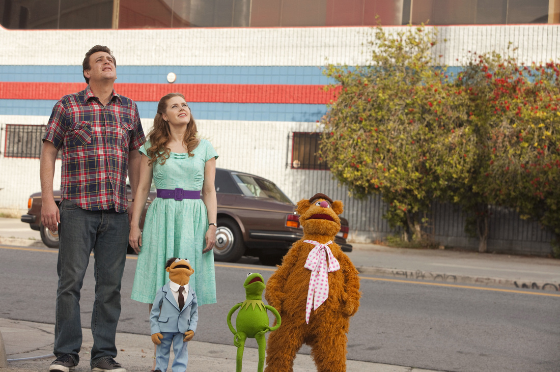 The Muppets - Jason Segel - Amy Adams - Walter - Kermit - Fozzie