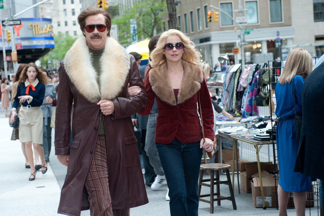 Anchorman 2 The Legend Continues - Will Ferrell - Christina Applegate