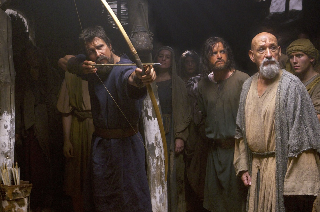 Exodus Gods and Kings - Christian Bale - Ben Kingsley - Aaron Paul