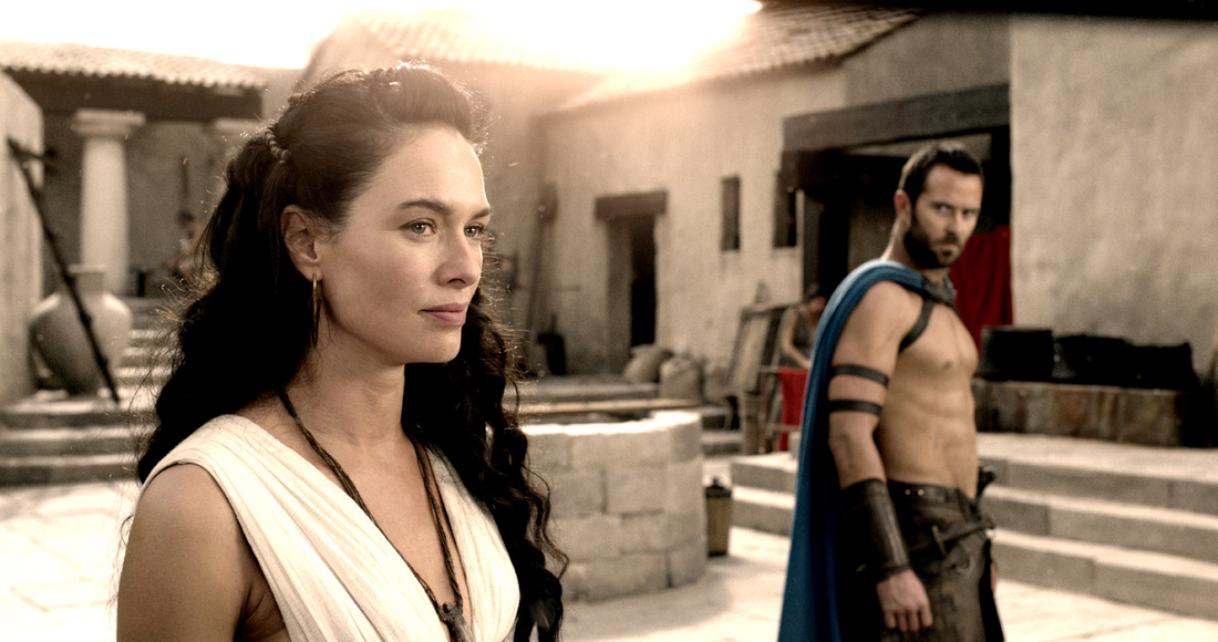 300 Rise Of An Empire - Sullivan Stapleton - Lena Headey