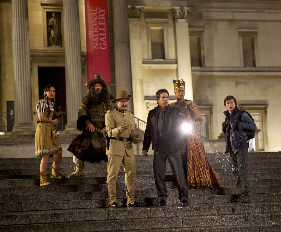 Night at the Museum Secret of the Tomb - Ben Stiller - Robin Williams - Mizuo Peck - Rami Malek - Patrick Gallagher