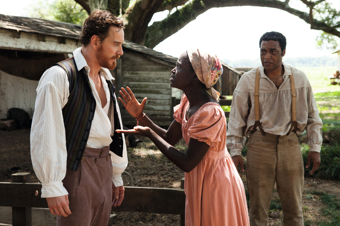12 Years a Slave - Chiwetel Ejiofor - Michael Fassbender - Lupita Nyong'o