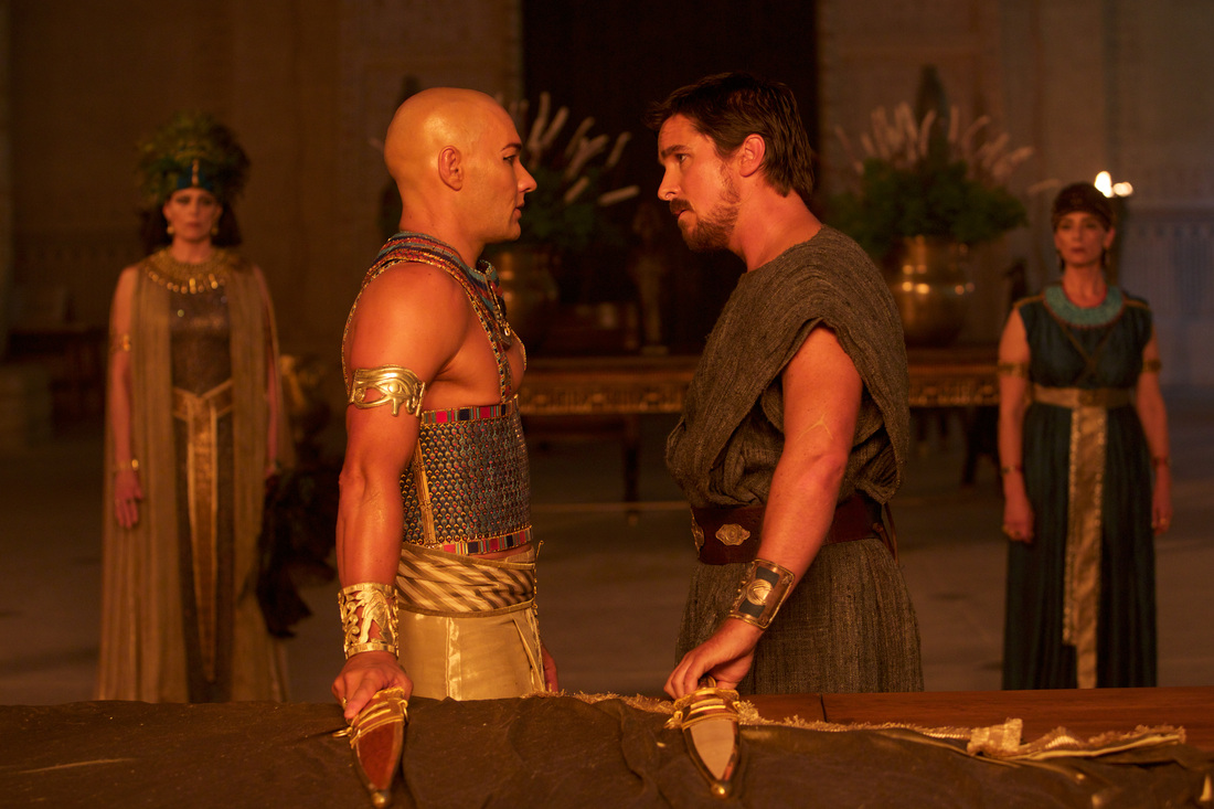 Exodus Gods and Kings - Christian Bale - Joel Edgerton - Sigourney Weaver - Hiam Abbass