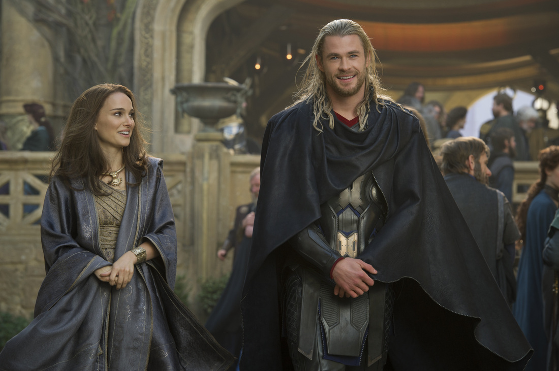Thor The Dark World - Chris Hemsworth - Natalie Portman