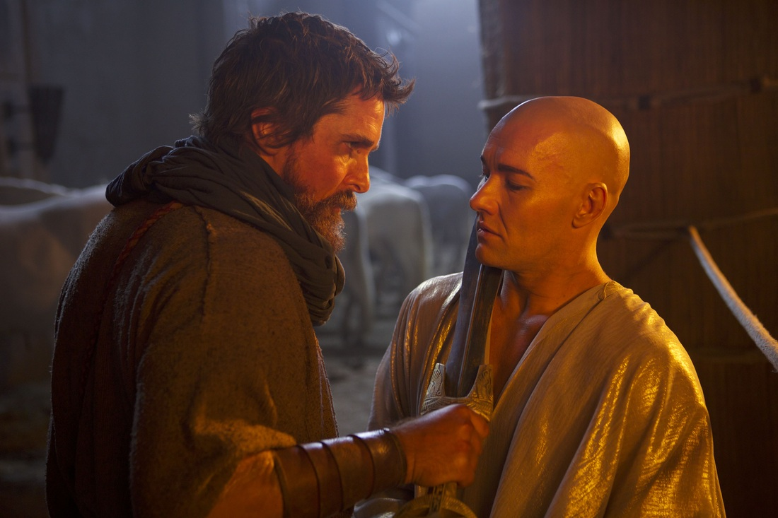 Exodus Gods and Kings - Christian Bale - Joel Edgerton