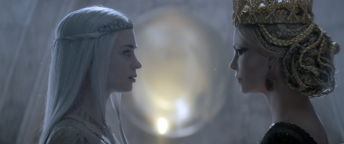 The Huntsman,Winter's War,Charlize Theron,Emily Blunt