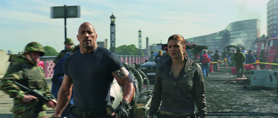 Fast & Furious 6 - Dwayne Johnson - The Rock - Gina Carano