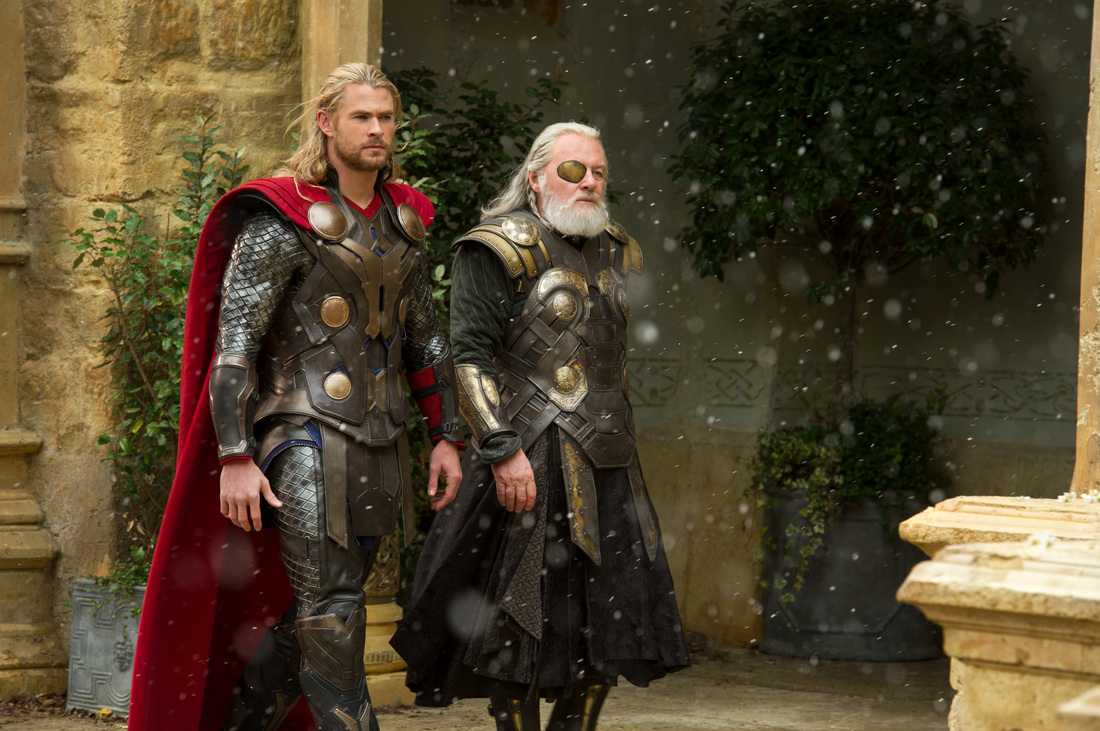 Thor The Dark World - Chris Hemsworth - Anthony Hopkins