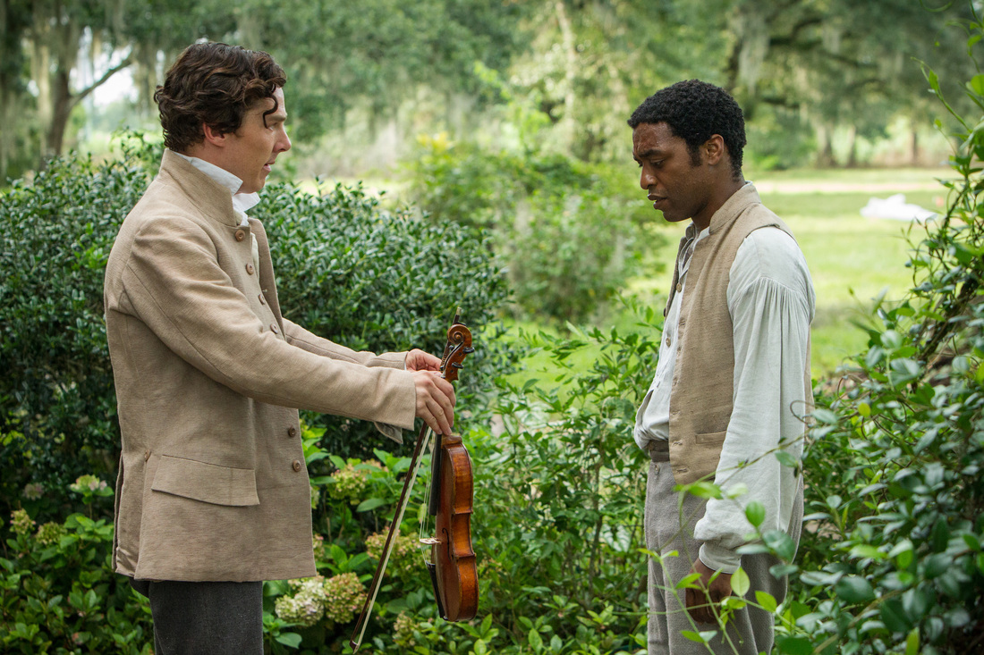 12 Years a Slave - Chiwetel Ejiofor - Benedict Cumberbatch