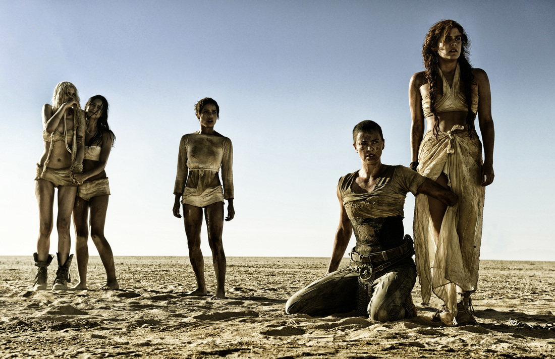 mad max,fury road,Charlize Theron,Rosie Huntington-Whiteley,Zoe Kravitz,Riley Keough,Abby Lee,Courtney Eaton