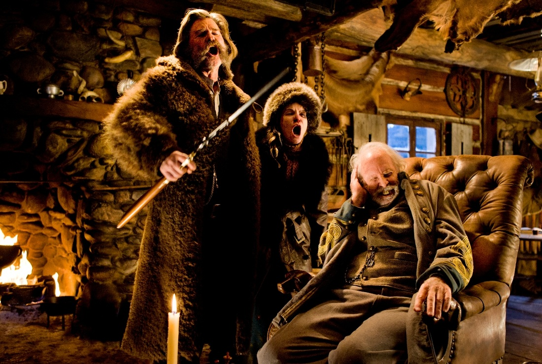The Hateful Eight,Kurt Russell,Jennifer Jason Leigh,Bruce Dern