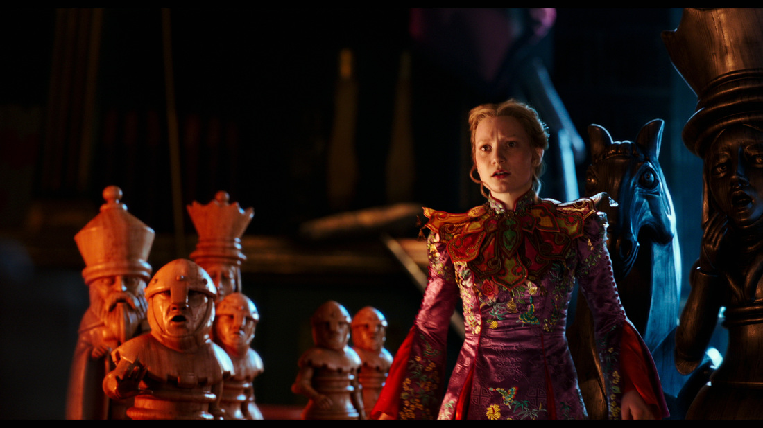 Alice Through the Looking Glass,Mia Wasikowska