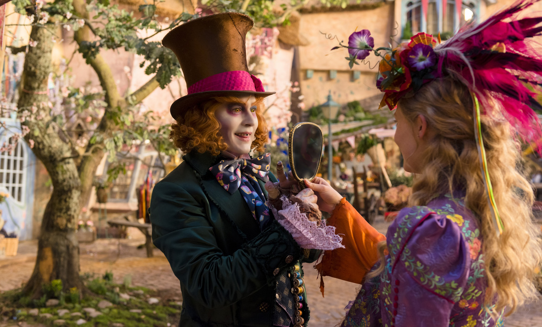 Alice Through the Looking Glass,Johnny Depp,Mia Wasikowska