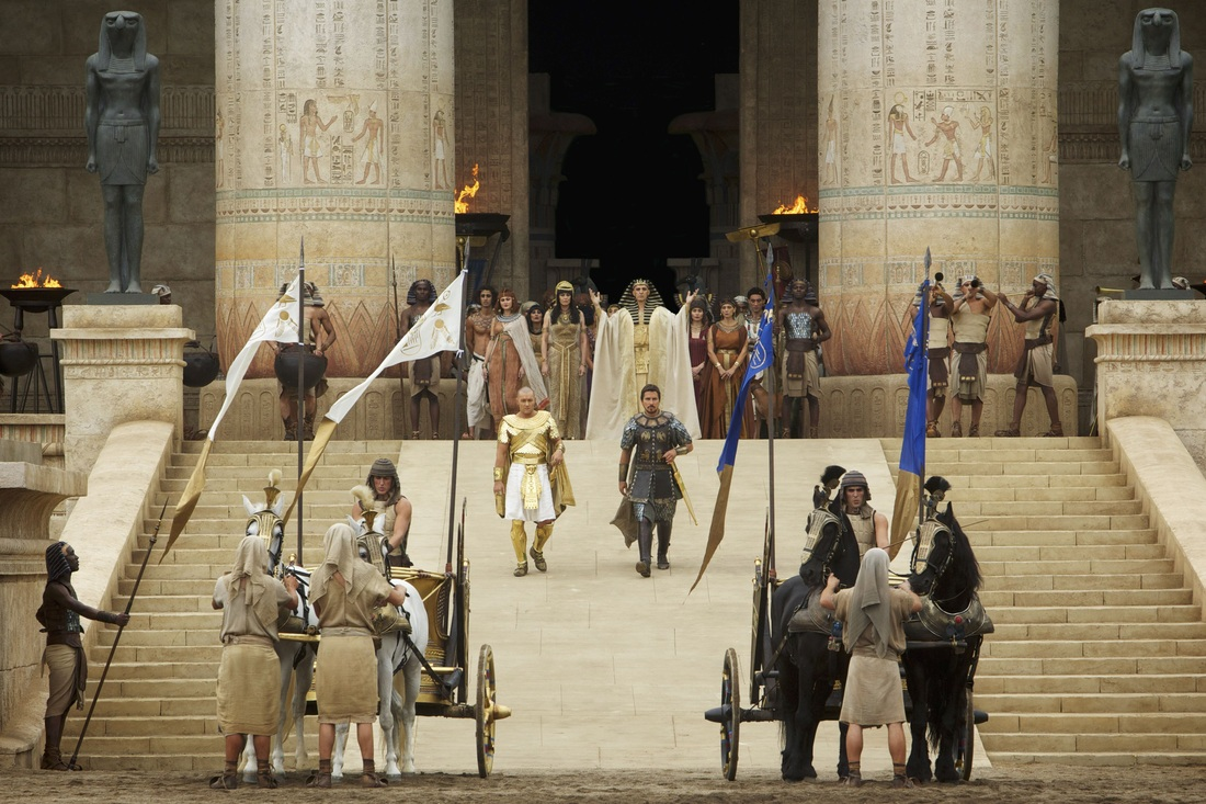 Exodus Gods and Kings - Christian Bale - Joel Edgerton - John Turturro - Sigourney Weaver