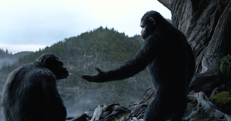 Dawn of the Planet of the Apes - Andy Serkis - Toby Kebbell