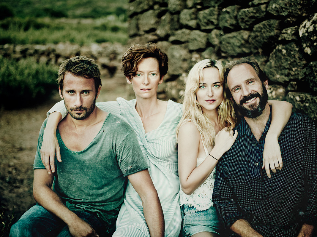 A Bigger Splash,Ralph Fiennes,Tilda Swinton,Matthias Schoenaerts,Dakota Johnson