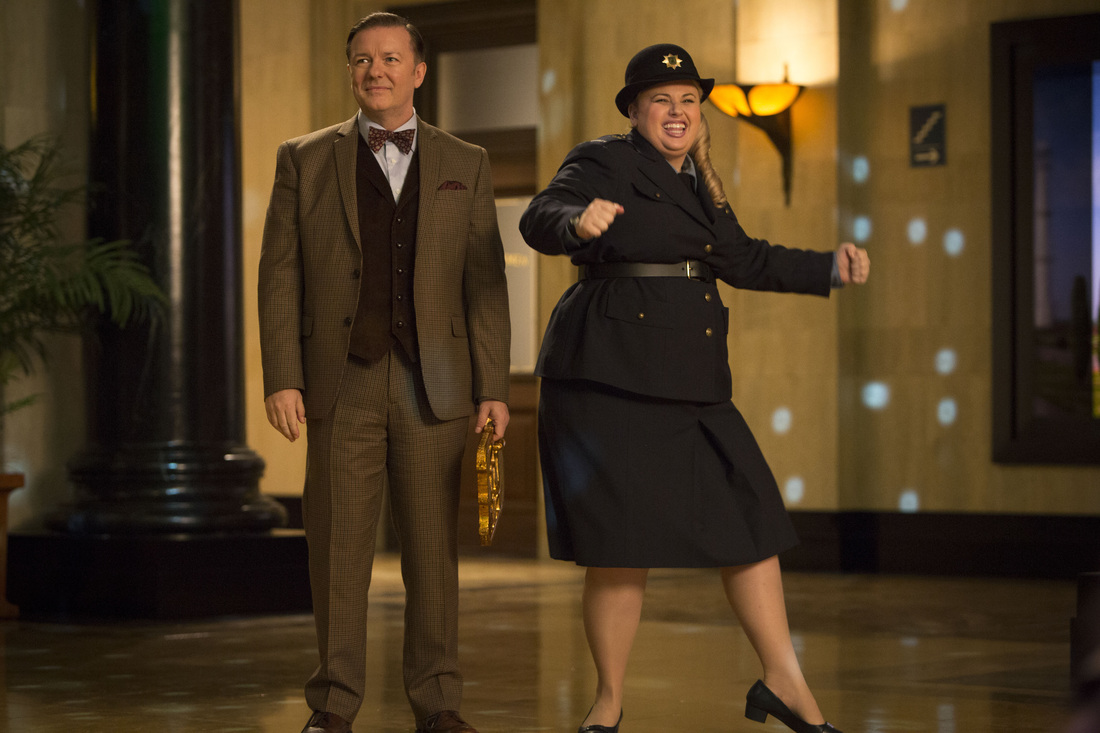 Night at the Museum Secret of the Tomb - Ricky Gervais - Rebel Wilson