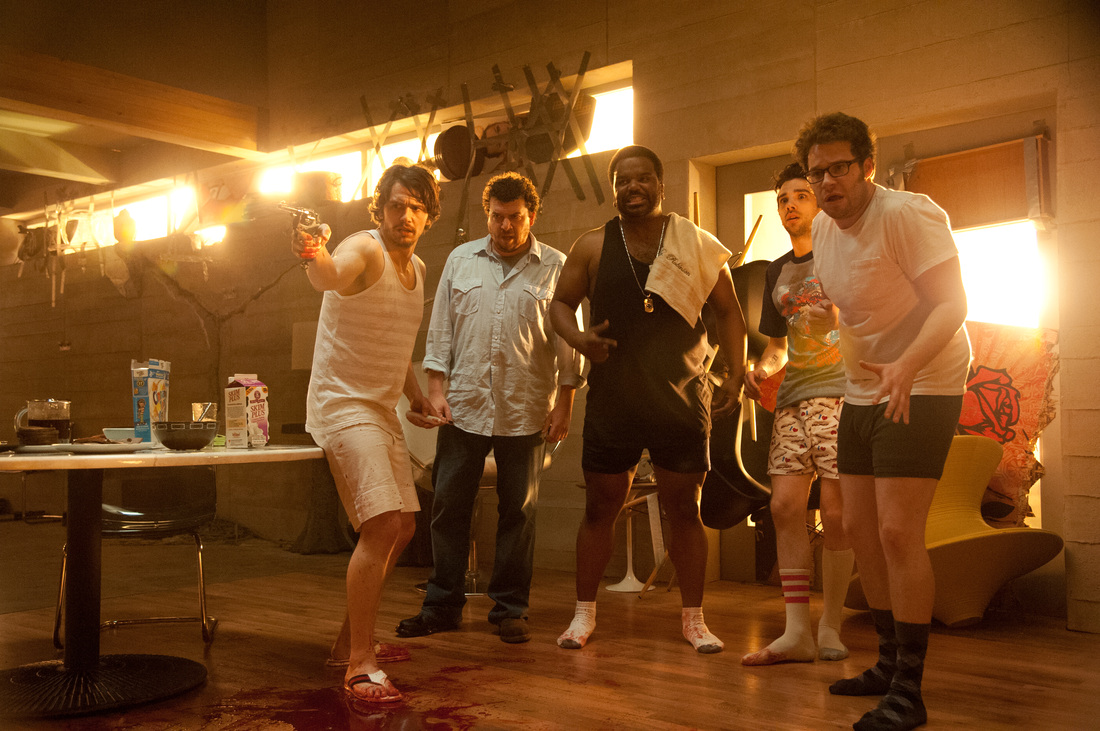 This Is The End - Seth Rogen - Jonah Hill - James Franco - Danny McBride - Jay Baruchel - Craig Robinson