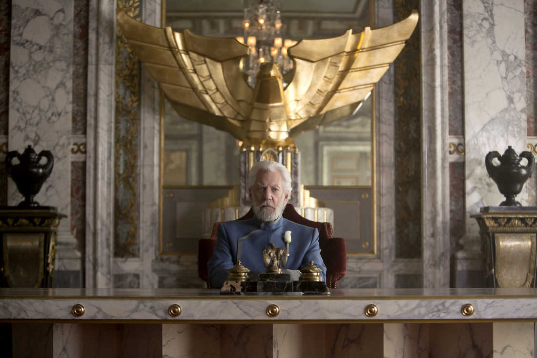 The Hunger Games Mockingjay Part 1 - Donald Sutherland