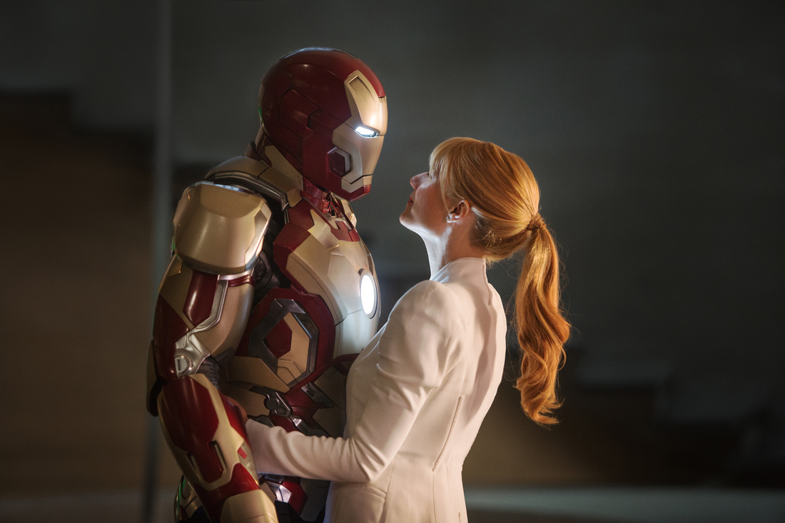 Iron Man 3 - Robert Downey Jr - Gwyneth Paltrow