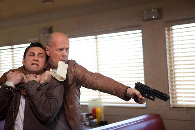 Looper - Bruce Willis - Joseph Gordon-Levitt