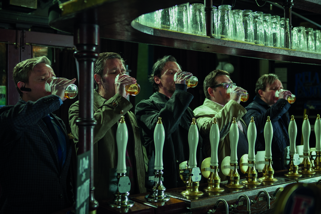 The World's End - Simon Pegg - Martin Freeman - Nick Frost - Eddie Marsan - Paddy Considine