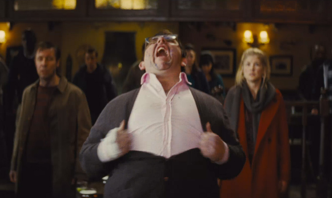 The World's End - Nick Frost - Paddy Considine - Rosamund Pike