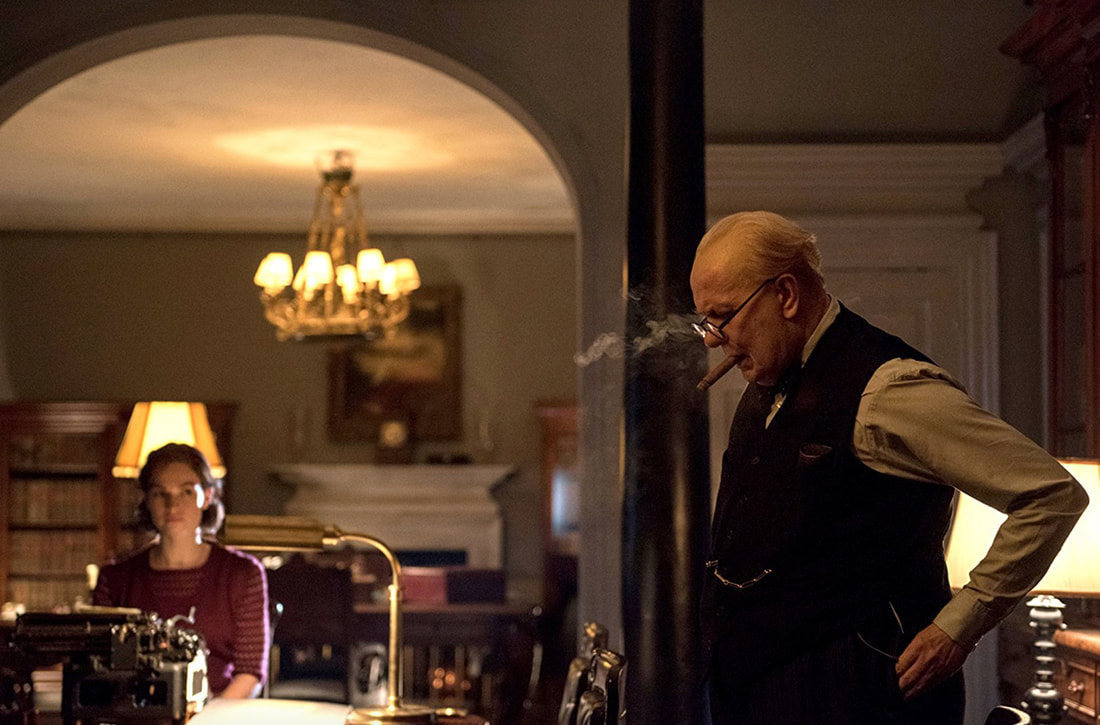 Darkest Hour,Gary Oldman,Lily James