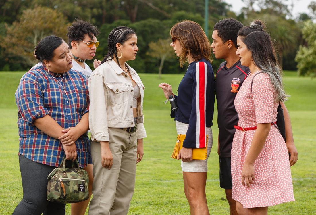 The Breaker Upperers,Madeleine Sami,Jackie van Beek,James Rolleston,Ana Scotney